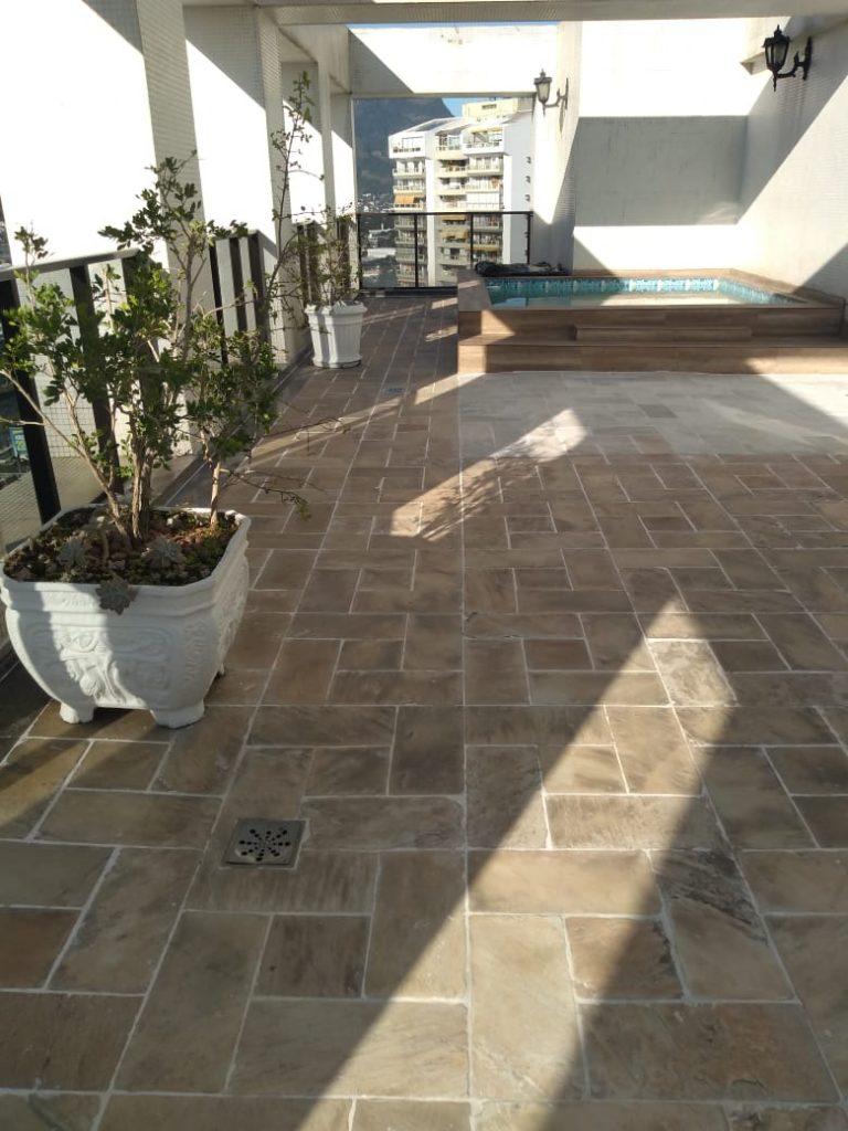 Cobertura duplex com 243 m² – 3 Suites, Cobertura com Piscina em Barra da Tijuca – Rio de Janeiro-RJ